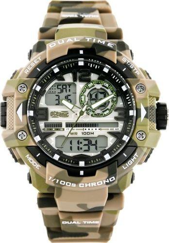 Zegarek OCEANIC OCEANIC OC-113-05 - MULTITIME - WR100 (ze008c) uniwersalny