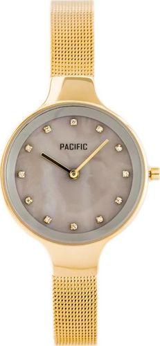 Zegarek Pacific PACIFIC 6009 (zy596c) - gold/grey uniwersalny