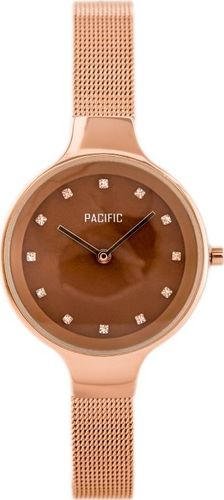 Zegarek Pacific PACIFIC 6009 (zy596d) - rosegold uniwersalny