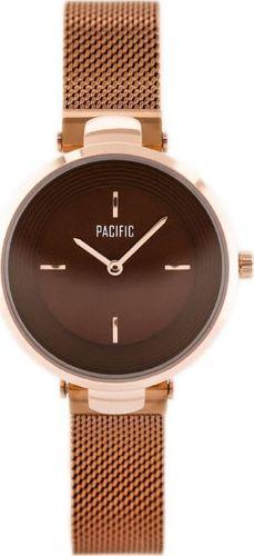 Zegarek Pacific PACIFIC 6012 (zy600c) - rosegold uniwersalny