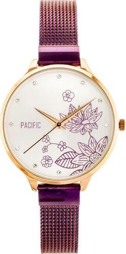 Zegarek Pacific PACIFIC X6101 - siatka - purple (zy622c) uniwersalny