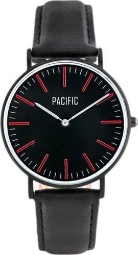 Zegarek Pacific PACIFIC CLOSE (zy588b) - black/red uniwersalny