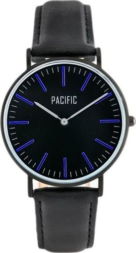 Zegarek Pacific PACIFIC CLOSE (zy588c) - black/blue uniwersalny