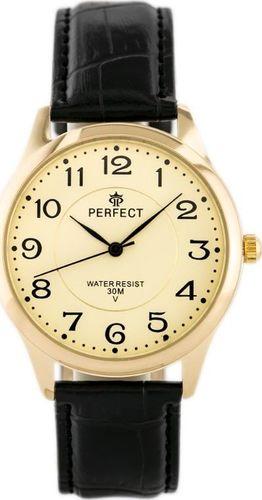 Zegarek Perfect PERFECT KLASYKA A4019-T (zp254c) uniwersalny