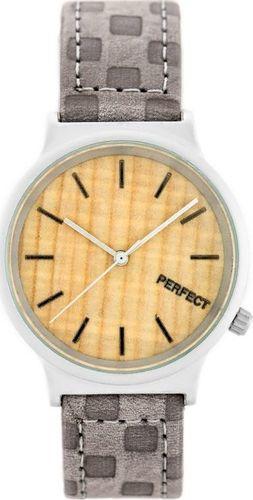 Zegarek Perfect PERFECT A3040 (zp853a) grey/silver uniwersalny
