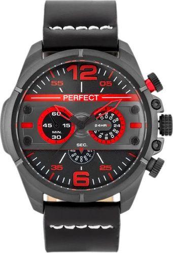 Zegarek Perfect PERFECT A195 - czarny (zp252a) uniwersalny