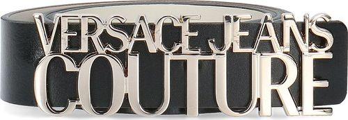 Versace Jeans Versace Jeans Couture Vitello Lettering - Pasek Damski - D8VUBF30 71168 899 90