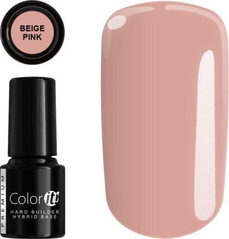 Silcare Baza pod lakier hybrydowy Color It Premium Hard Builder Hybrid Base Beige Pink 6g