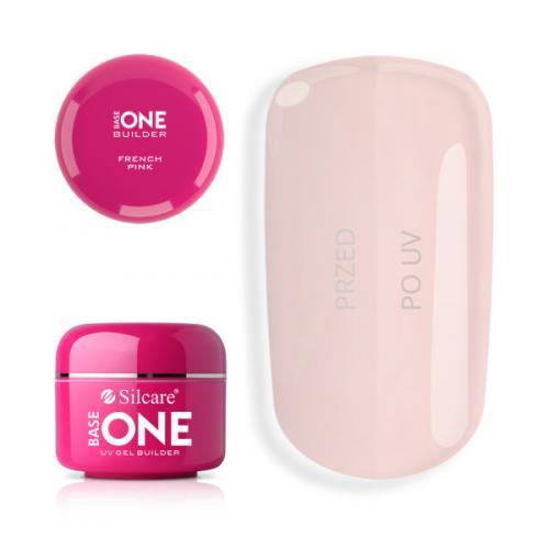 Silcare Żel do paznokci Gel Base One French Pink budujący 5g