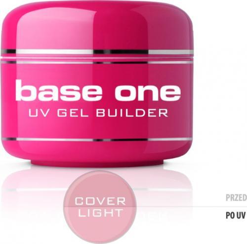 Silcare Żel do paznokci Gel Base One Cover Light maskujący 5g