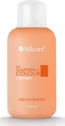 Silcare Płyn do odtłuszczania płytki paznokcia The Garden of Colour Cleaner Melon Orange 150ml