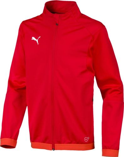Puma Bluza dla chłopca Puma Liga Training Jacket czerwona 655688 01 152cm
