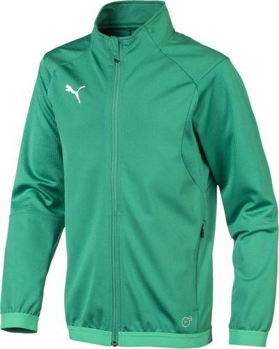 Puma Bluza dla chłopca Puma Liga Training Jacket zielona 655688 05 128cm