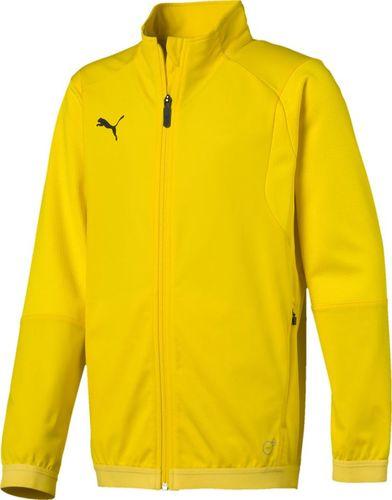 Puma Bluza dla chłopca Puma Liga Training Jacket żółta 655688 07 128cm