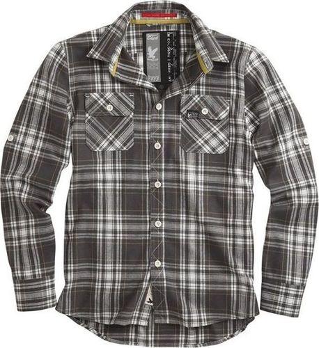 Surplus Surplus Koszula w Kratę Lumberjack Szara S
