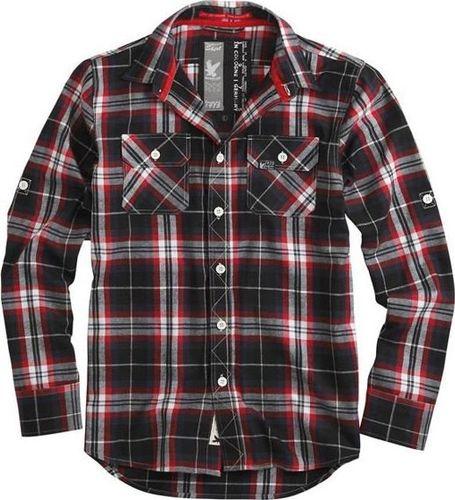 Surplus Surplus Koszula w Kratę Lumberjack Czerwona S