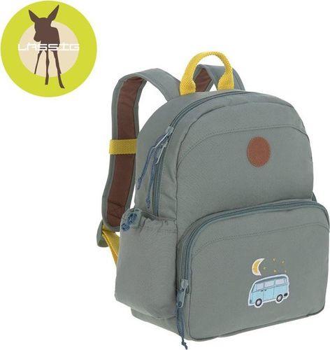 Lassig Lassig Plecak z termoizolacyjną kieszenią i naklejkami Adventure Bus