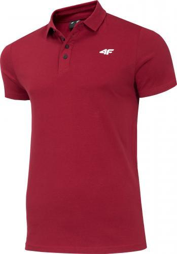 4f Koszulka męska H4Z19-TSM010 Burgund r. L