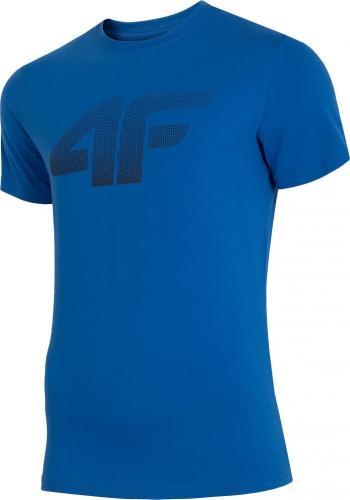 4f Koszulka męska H4Z19-TSM071 niebieska r. XL