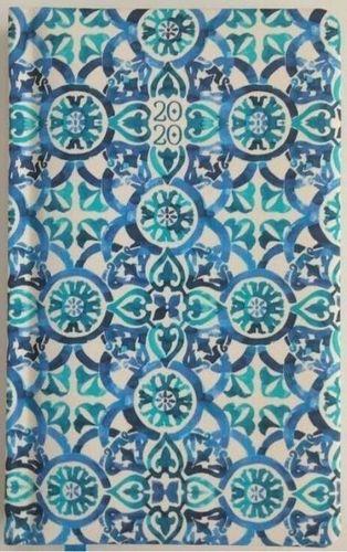 Albi Kalendarz tygodniowy 2020 Niebieska tapeta ALBI