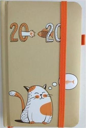 Albi Kalendarz kieszonkowy tygodniowy 2020 Kot