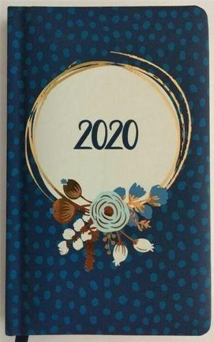 Albi Kalendarz tygodniowy 2020 Kwiaty niebieskie ALBI