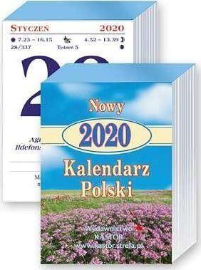 Kastor Kalendarz zdzierak 2020