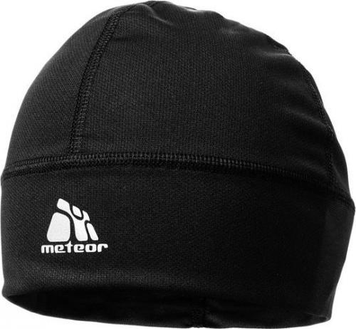 Meteor Czapka do biegania treningowa Ghost czarna r. uniwersalny