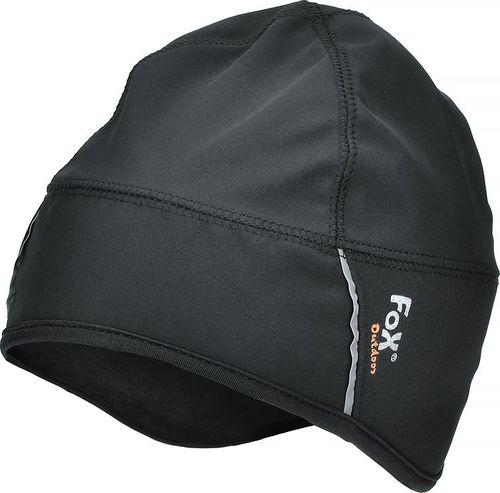 Fox Outdoor Czapka SoftShell czarna r. L/XL
