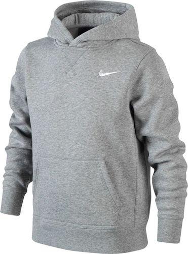 Nike Bluza chłopięca B Nk Hoodie Ya76 Bf Oth Junior szara r. XS (619080 063)