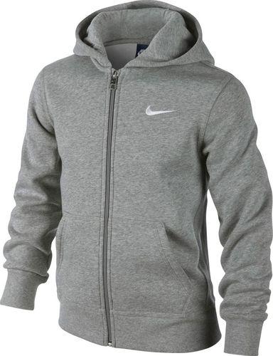 Nike Bluza męska B Hoodie Ya76 Bf Fz Junior szara r. M (619069 063)