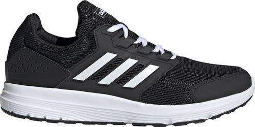Adidas Buty męskie do biegania adidas Galaxy 4 czarne EE8024 45 1/3