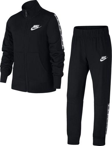 Nike Dres dla dzieci Nike G TRK Suit Tricot czarny 939456 010 XS