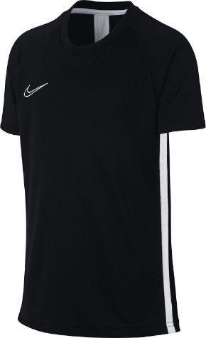 Nike Koszulka chłopięca B Dry Academy Ss czarna r. M (AO0739 010)