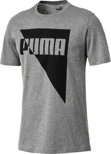 Puma Koszulka męska Brand Graphic Medium Gray r. XL (851548 03)
