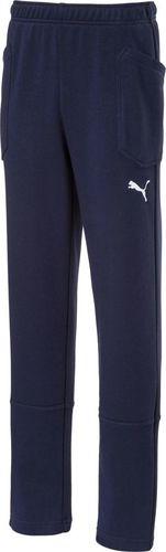 Puma Spodnie dla chłopca Puma Liga Casuals Pants granatowe 655635 06 116cm