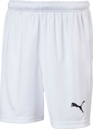 Puma Spodenki dla chłopca Puma Liga Shorts Core białe 703437 04 116cm