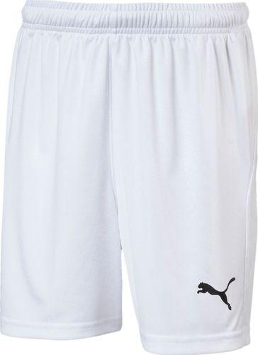 Puma Spodenki dla chłopca Puma Liga Shorts Core białe 703437 04 152cm
