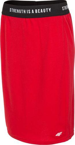 4f Spódnica damska 4F H4L19 SPUD001 62S czerwona M