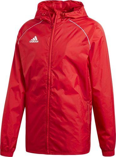 Adidas Kurtka męska Core 18 Rain czerwona r. L (CV3695)