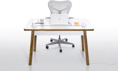 Biurko BlueLounge StudioDesk biurko XL 150cm schowek na kable (SD-WH-XL)