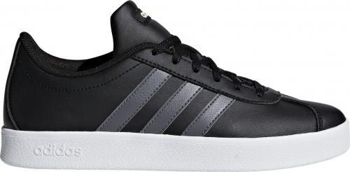 Adidas Buty dziecięce Vl Court 2.0 czarne r. 38 (F36381)
