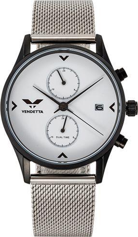 Zegarek Vendetta Zegarek damski Venice white/silver mesh VE1039 uniwersalny