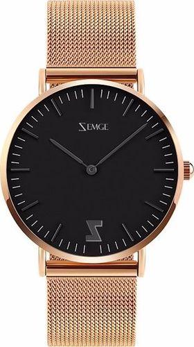 Zegarek Zemge męski Classic ZC0505M czarny 40mm