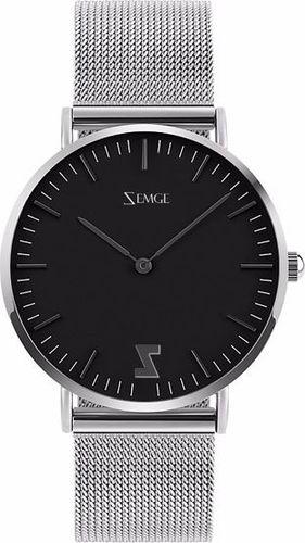 Zegarek Zemge męski Classic ZC0504M czarny 40mm
