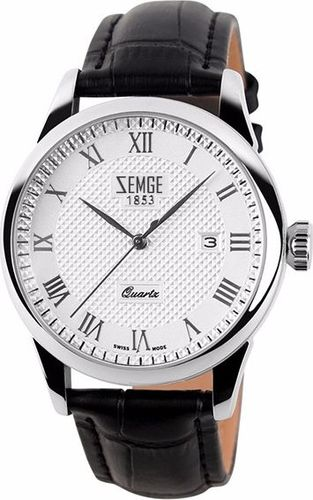 Zegarek Zemge męski Wallstreet ZC0301M srebrny 38mm