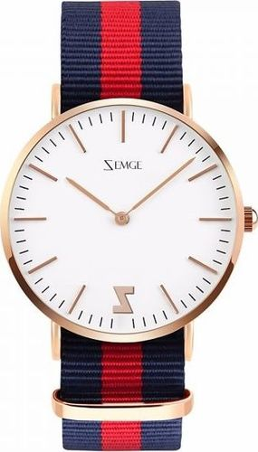 Zegarek Zemge damski Classic ZC0702W biały 36mm