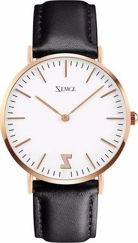 Zegarek Zemge damski Classic ZC0603W biały 36mm