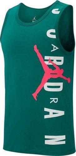 Jordan  Koszulka męska Jumpman Air zielona r. XL (AO0673-340)