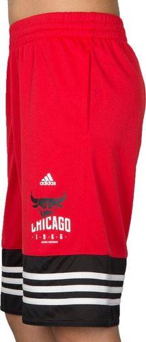 Adidas Spodenki dziecięce Y Basic Short Nbacbu czerwone r. 116 (AH5082)